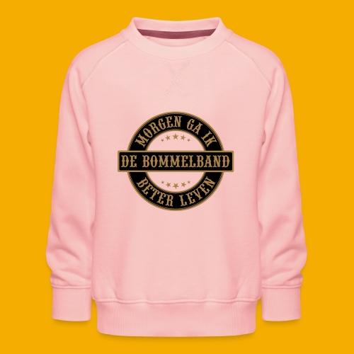 bb logo rond shirt - Kinderen premium sweater