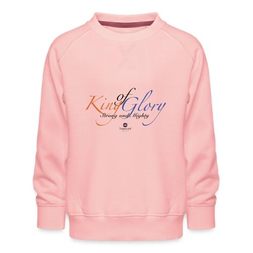 King of Glory by TobiAkiode™ - Kids' Premium Sweatshirt