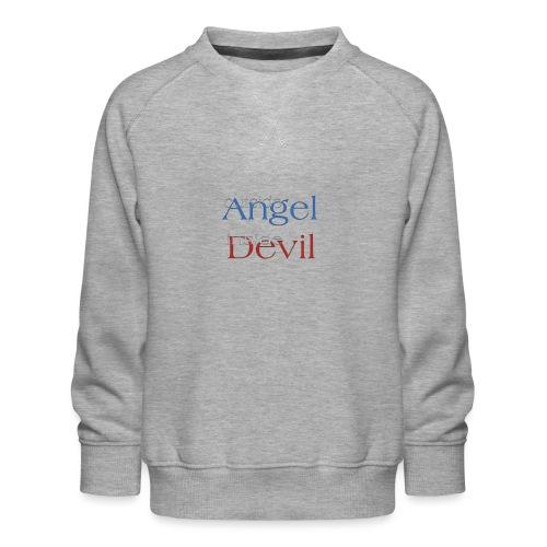 Angelo o Diavolo? - Felpa premium da bambini