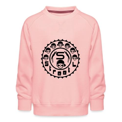 rawstyles rap hip hop logo money design by mrv - Bluza dziecięca Premium