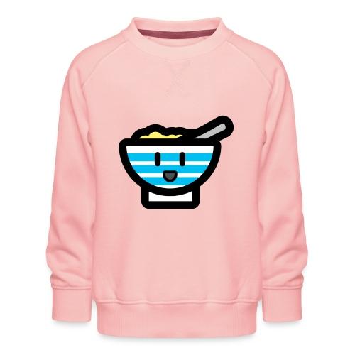 Cute Breakfast Bowl - Kids' Premium Sweatshirt