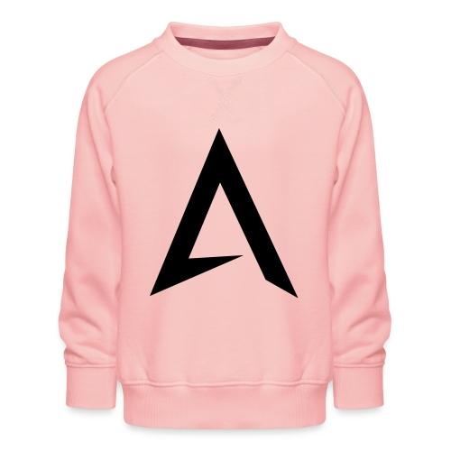 alpharock A logo - Kids' Premium Sweatshirt