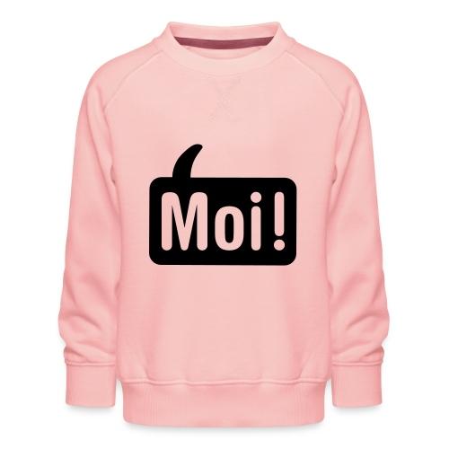 hoi shirt front - Kinderen premium sweater