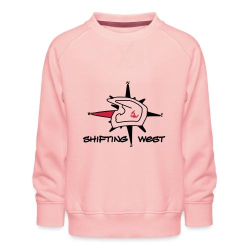 Shifting West Logo vector - Kinderen premium sweater