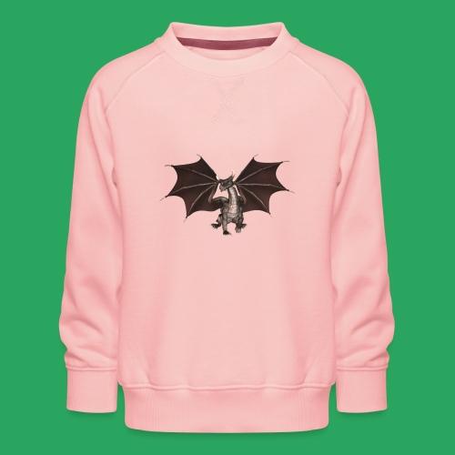 dragon logo color - Felpa premium da bambini
