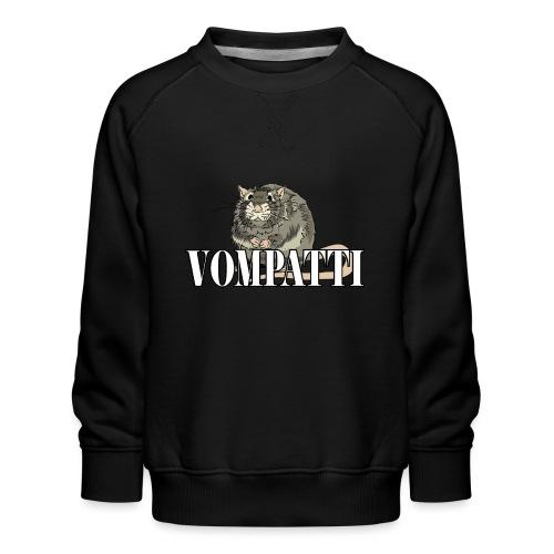 Vompatti - Lasten premium-collegepaita