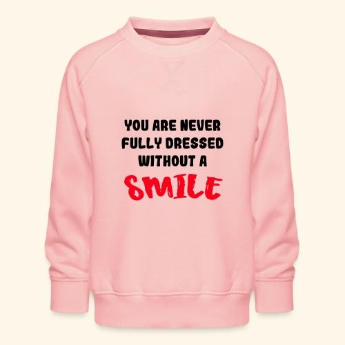 Lyric Liedje met glimlach - Kinderen premium sweater