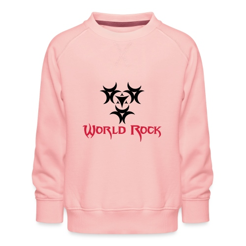 Motif World Rock - Sweat ras-du-cou Premium Enfant