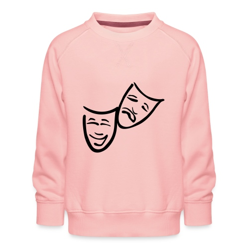 Theatermasken - Kinder Premium Pullover