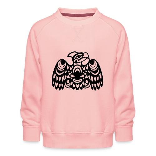 EAGLE WEST COAST SALISH (tribal collection) - Kids' Premium Sweatshirt