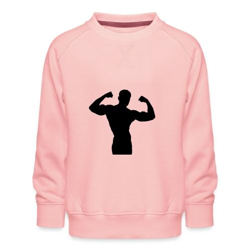 Musculation - Sweat ras-du-cou Premium Enfant
