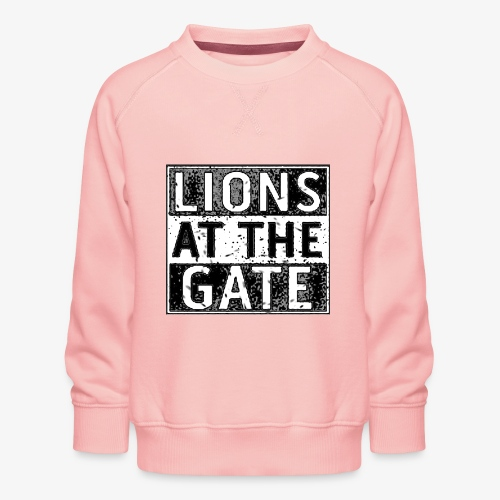 LIONS AT THE GATE BAND LOGO - Kinderen premium sweater