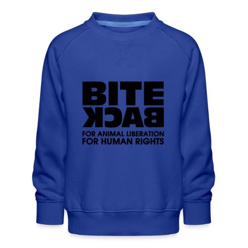 Bite Back logo - Kinderen premium sweater