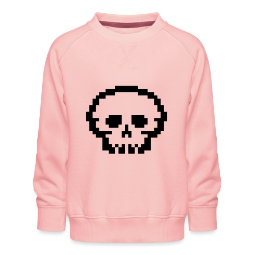 Pixeltotenkopf - Kinder Premium Pullover