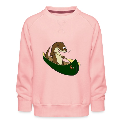 greencanoewithsticker - Kids' Premium Sweatshirt