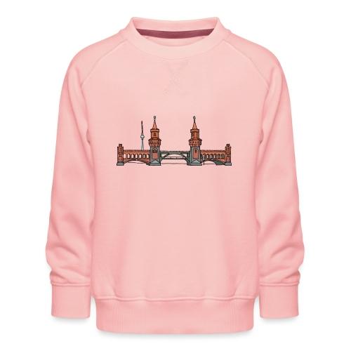 Oberbaumbrücke BERLIN - Kinder Premium Pullover