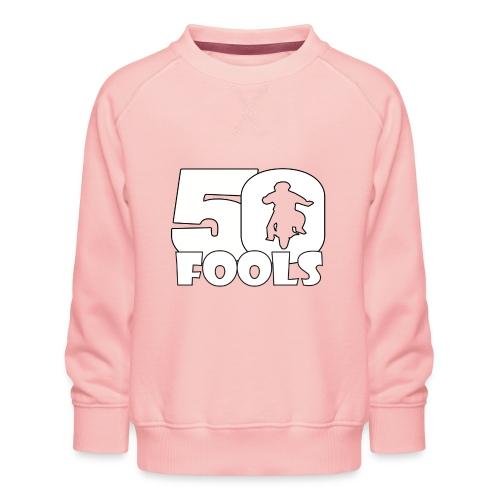 50FOOLSLOGOSPREADSHIRT png - Kinderen premium sweater