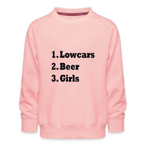 Lowcars Shirt - Kinderen premium sweater