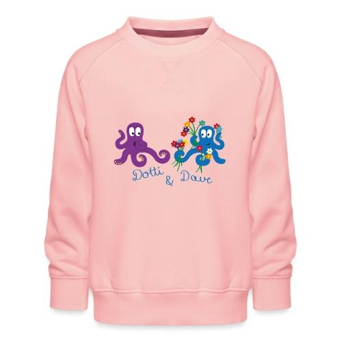 Kraken Liebespaar - Kinder Premium Pullover