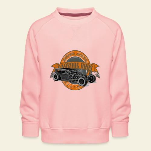 Raredog Rods Logo - Børne premium sweatshirt