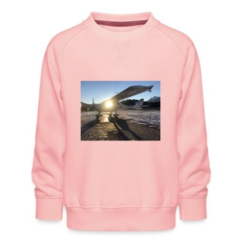 Flugzeug in Niederöblarn - Kinder Premium Pullover