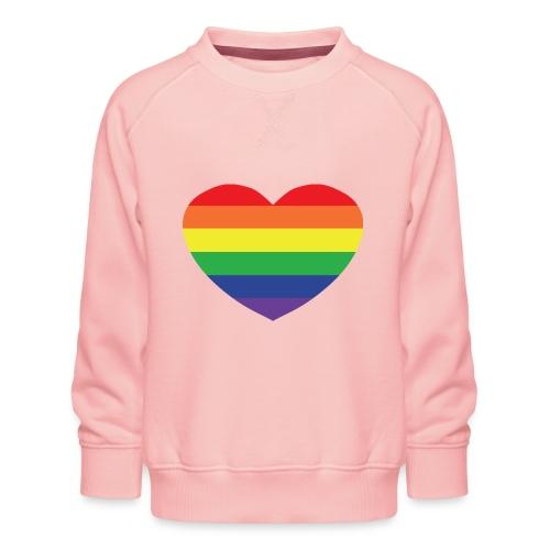 Rainbow heart - Kids' Premium Sweatshirt