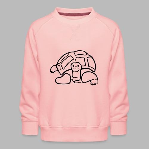 schildkröte landschildkroete aus den seychellen - Kinder Premium Pullover