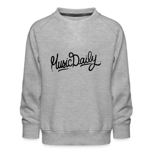 MusicDaily Logo - Kinderen premium sweater