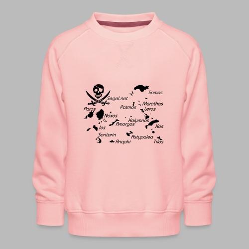 Crewshirt Motiv Griechenland - Kinder Premium Pullover