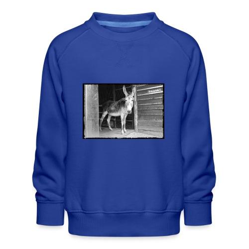 Zickenstube Esel - Kinder Premium Pullover