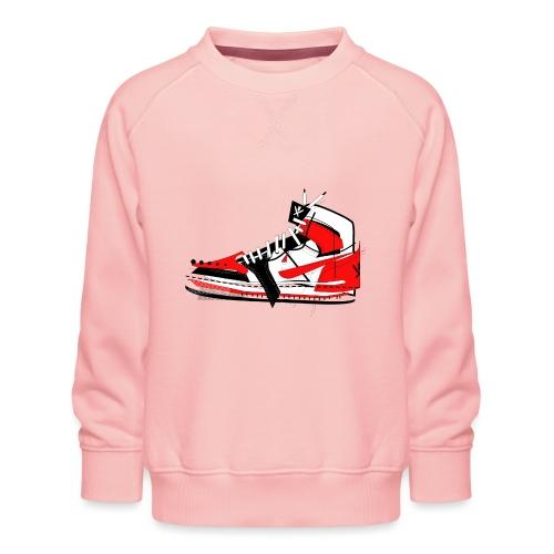 Destrukt my Shoes by MiZAl Touch Concept - Sweat ras-du-cou Premium Enfant