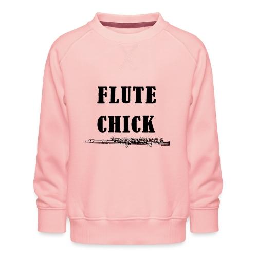 Flute Chick - Premium-genser for barn
