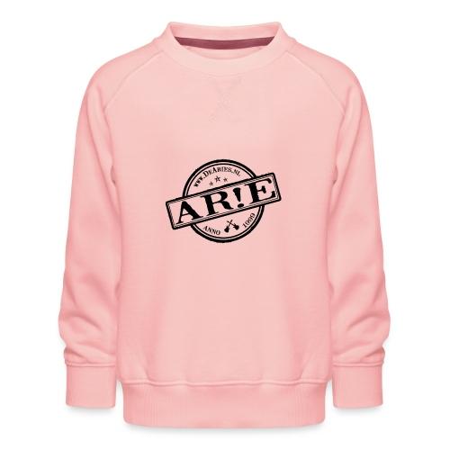 Backdrop AR E stempel zwart gif - Kinderen premium sweater