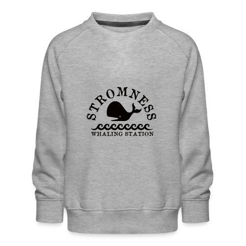 Sromness Whaling Station - Kids' Premium Sweatshirt