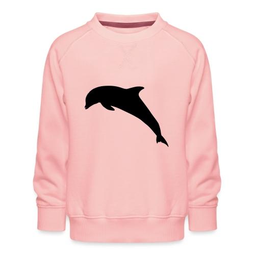 Delfin springend - Kinder Premium Pullover