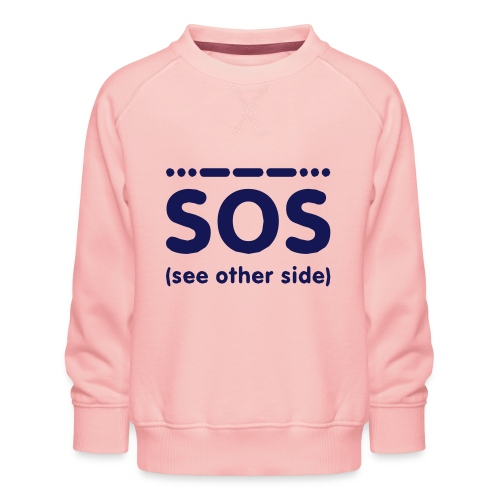 SOS - Kinderen premium sweater
