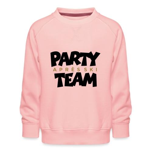Après-Ski Party Team (zweifarbig) - Kinder Premium Pullover