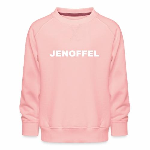 Jenoffel - Kinderen premium sweater