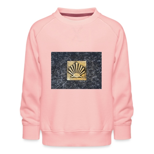 Scallop Shell Camino de Santiago - Kids' Premium Sweatshirt