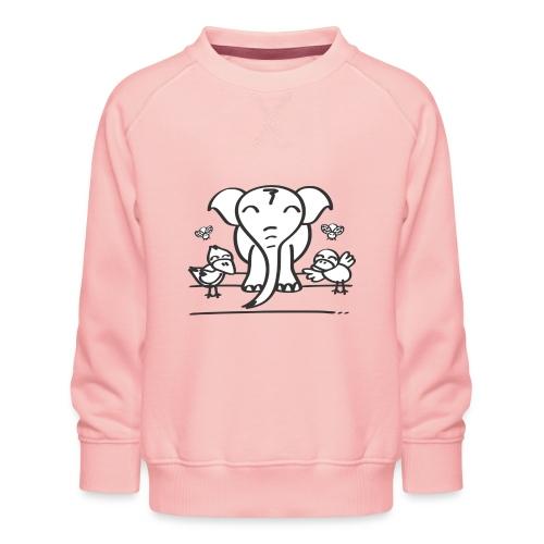 78 elephant - Kinder Premium Pullover