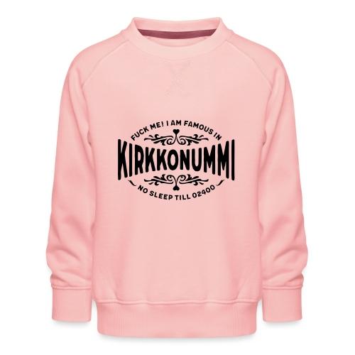 Kirkkonummi - Fuck Me - Lasten premium-collegepaita