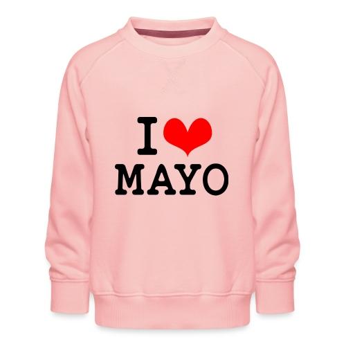 I Love Mayo - Kids' Premium Sweatshirt