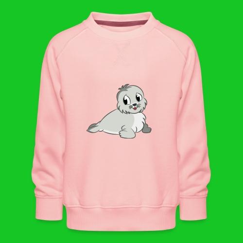 Zeehondje - Kinderen premium sweater