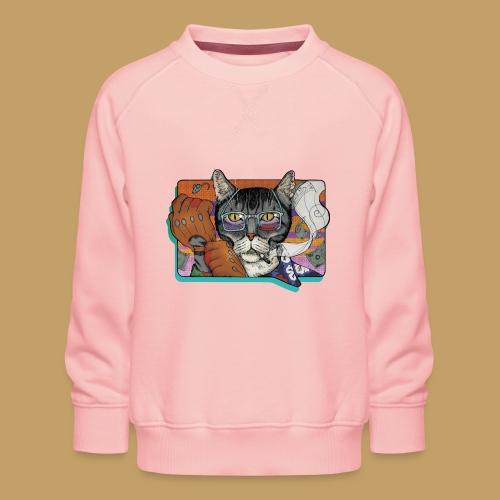 Crime Cat - Bluza dziecięca Premium