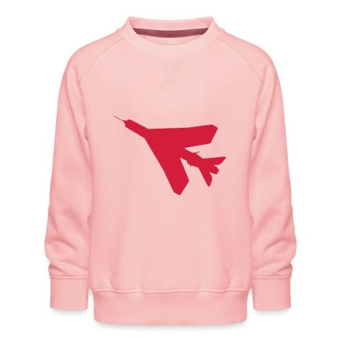 BAC English Electric Lightning Silhouette - Kids' Premium Sweatshirt