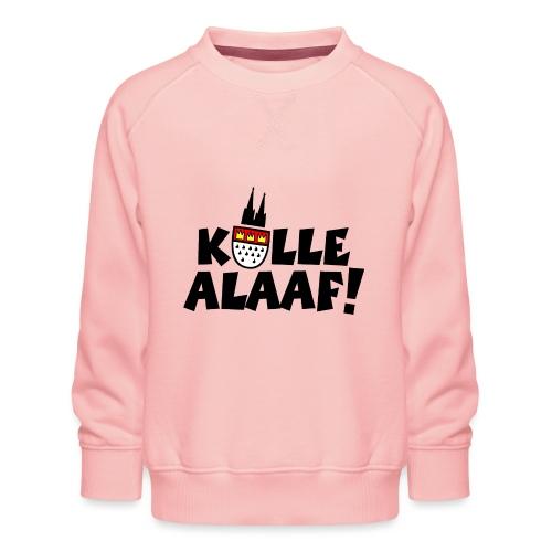 Kölle Alaaf Karneval in Köln mit Wappen und Dom - Kinder Premium Pullover