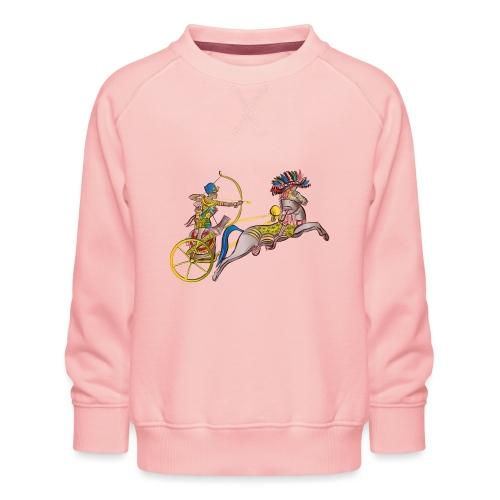Pharao mit Streitwagen - Kinder Premium Pullover