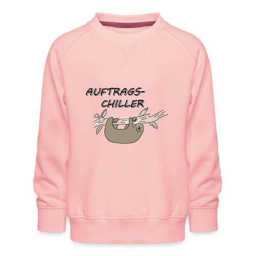 Faultier Auftragschiller - Kinder Premium Pullover