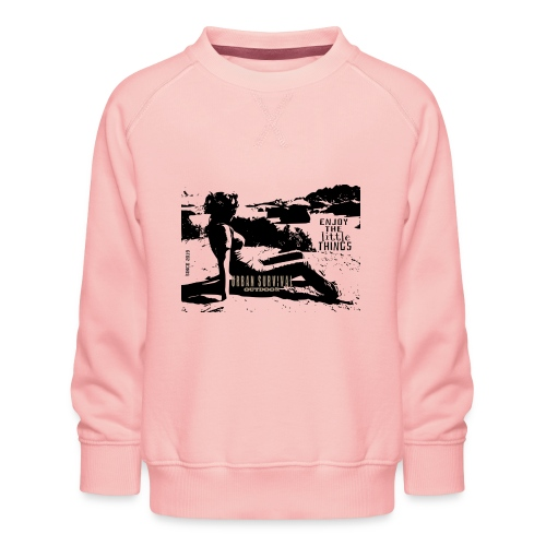 women design black - Kinder Premium Pullover