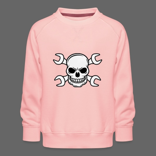 MEKKER SKULL - Børne premium sweatshirt